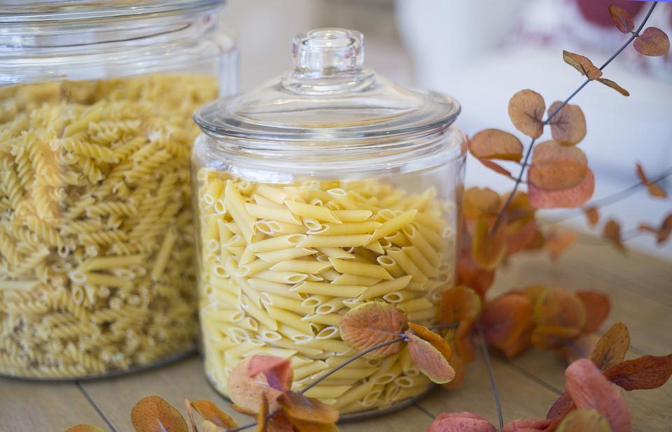 organizing tips : pasta storage